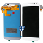 Motorola Moto G XT1622 (2016), G4 Complete LCD and Digitizer Assembly in White