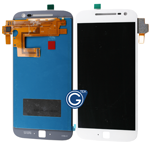Motorola Moto G4 Plus Complete LCD and Digitizer Assembly in White