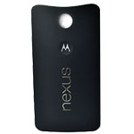 Genuine Motorola Nexus 6 64GB Battery Cover in Dark Grey/Black- Part no: 01018057001