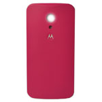 Genuine Motorola Moto G 2nd Generation Battery Cover in Raspberry Red- Part no: 20DBU010005;SJHN1141A