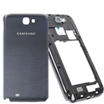 Samsung N7100 Titanium Grey Rear Chassis with Battery Cover and side buttons