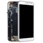 Genuine Samsung SM-N7505 Galaxy Note 3 Neo Complete lcd and digitizer with frame in White - Samsung part number: GH97-15540B