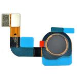 Genuine Nokia 7 Plus Dual Sim (TA-1046) - Fingerprint Sensor Flex Complete Black - Part no: SLX22424X00