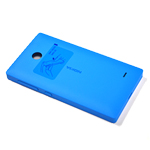 Nokia X+ battery cover (cyan) -Part no: 02504l6