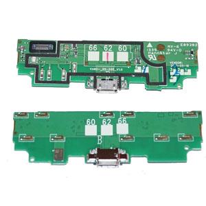 Genuine Nokia Lumia 625 Micro USB Connector / Microfone Flex-Cable HSPA-Nokia part no: 8003082
