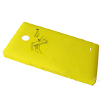 Nokia XL, Dual SIM Battery Cover (yellow) - Part no: 8003219