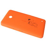 Nokia Lumia 630, 635 Back Cover (Orange) - Part no: 02506c4