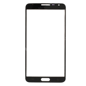 Samsung SM-N7505 Galaxy Note 3 Neo Front Glass Lens With Adhesive in Black - Hiqh Quality