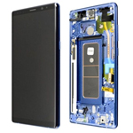 Genuine Samsung Galaxy Note 8 (N950) lcd with frame and touchpad in blue-Part no: GH97-21065B