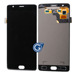OnePlus 3, 3T Complete LCD and Touchpad Digitizer Assembly in Black REV2.0