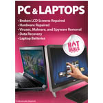 New Medium A2 PC & Laptops Repaired Here Poster