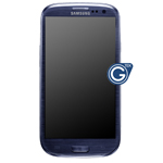 Genuine Samsung GT-I9300 Galaxy S3 Complete Lcd and digitizer with frame in Pebble Blue - Part No: GH97-13630A