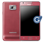 Genuine Samsung GT-i9100 Galaxy S2 Lcd/Touch Pink GH97-13080A & Samsung GT-i9100 Pink Galaxy S2 Battery Cover GH98-19595C