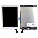 iPad Air 2 Complete lcd with touchpad assembly in White - Complete lcd unit with touchpad  (14 days)