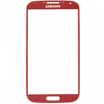 Samsung i9505,i9500 Galaxy S4 Glass lens in Red aurora with Adhesive
