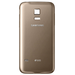 Genuine Samsung S5 Mini (SM-G800F) Battery Cover Gold -  GH98-31984D