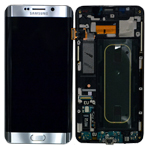 Genuine Samsung SM-G928F Galaxy S6 Edge Plus Complete Front LCD with Touchscreen in Silver- Samsung part no: GH97-17819D
