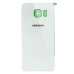 Samsung Galaxy S6 Edge SM-G925 Battery Cover in White Pearl as OEM Quality