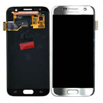 Genuine Samsung SM-G930F Galaxy S7 Complete lcd with Touchpad in Silver-Samsung part no: GH97-18523B