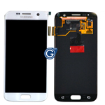 Genuine Samsung Galaxy S7 G930F lcd and touchpad in White - Part number: GH97-18523D