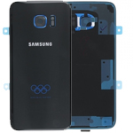 Genuine Samsung Galaxy S7 Edge (G935F) Battery cover in Olympic Black  Part no: GH82-11655A