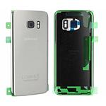 Genuine Samsung SM-G930F Galaxy S7 Battery Cover in Silver-Samsung part no: GH82-11384B