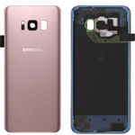 Genuine Samsung Galaxy S8 (SM-G950F) Battery Cover in Pink - Part no: GH82-13962E