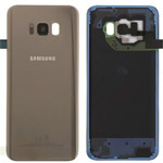 Genuine Samsung S8 Plus (G955) Battery cover in Gold - Part no: GH82-14015F