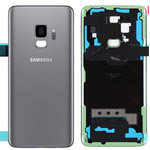 Genuine Samsung SM-G960F Galaxy S9 Back Cover in Titanium Grey Single Sim - Samsung part no: GH82-15865C