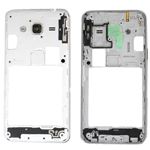 Samsung Galaxy J3 (2016), J320F Rear Chassis with Side Buttons in White