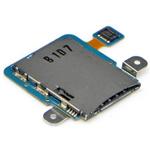 Genuine Samsung GT-P7300 Galaxy Tab 8.9 Sim Card Reader Flex-Samsung part no: GH96-05224A