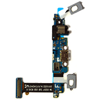 Genuine Samsung SM-G920F Galaxy S6 Micro USB Connector Flex-Cable with Microphone- Samsung part no: GH96-08275A