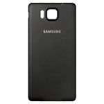 Genuine Samsung SM-G850F Galaxy Alpha Battery Cover in Black- Samsung part no: GH98-33688A