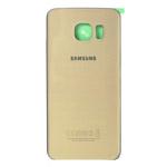 Genuine Samsung SM-G925F Galaxy S6 Edge Battery Cover in Gold- Samsung part no:GH82-09602C (GRADE A)