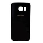 Genuine Samsung SM-G925F Galaxy S6 Edge Battery Cover in Black- Samsung part no: GH82-09602A, GH82-09645A