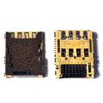 Genuine Samsung SM-J500F Galaxy J5  Sim Card Reader-Samsung part no:3709-001863