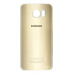 Genuine Samsung SM-G920F Galaxy S6 Battery Cover in Gold-Samsung part no: GH82-09825C