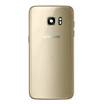 Genuine Samsung SM-G930F Galaxy S7 Battery Cover in Gold-Samsung part no: GH82-11384C