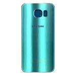 Genuine Samsung SM-G920F Galaxy S6 Battery Cover in Blue-Samsung part no: GH82-09548D, GH82-09825D