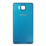 Genuine Samsung SM-G850F Galaxy Alpha  Battery Cover Blue-Samsung part no: GH98-33688C