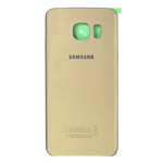 Samsung Galaxy S6 Edge SM-G925 Battery Cover in Gold Platinum as OEM Quality