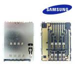 Samsung GT-P6800 / GT-P6500 SIM Card Connectors Edge 8P 2.6mm, SMD-S - Part Code 3709-001625