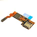 Genuine LG E986 Optimus G Pro  Sim/Memory Card Reader Flex-LG part no: EBR76594801