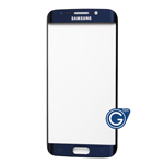 Samsung Galaxy S6 Edge SM-G925 Glass Lens with Adhesive in Black Sapphire