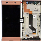 Genuine Sony XA1 Ultra G3212, G3121) lcd and touchpad in Pink - P/N:78PB3400040