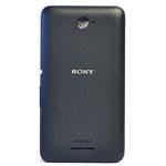 Genuine Sony Xperia E4 (E2105) Battery Cover in Black- Sony part no: A/405-58800-0001