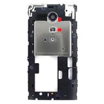 Genuine Sony C5303 Xperia SP  Middle Cover with Antenna (with Black Ring)- Sony part no:1268-3707