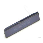 Genuine Sony C6603 Xperia Z Memory Card Cover in Black- Sony part no: 1272-4964