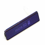 Genuine Sony C6603 Xperia Z Memory Card Cover in Purple- Sony part no: 1272-4966