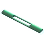 Genuine Sony Xperia Z3 Compact (D5803) Side Band Cover / Side Panel Magnet Port Green-Sony part no: 1284-4551